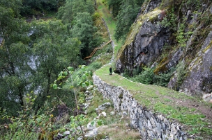 Kongeveien, på vei til Galdane. Foto: Siri Wolland/Riksantikvaren