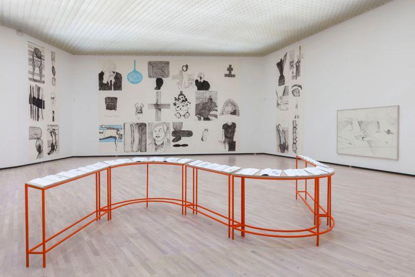 Lotte Konow Lund på Henie Onstad Kunstsenter. Foto: Øystein Thorvaldsen / HOK© All rights reserved