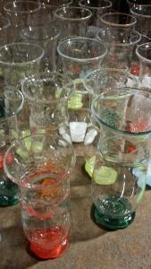 Brantenbergs glass fra utstillingen. Foto: Siri Wolland