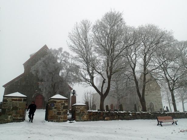 Søsterkirkene på Gran. Foto: Siri Wolland
