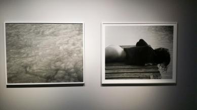 Tom Sandbergs fotografier. Foto: fra utstillingen. Siri Wolland