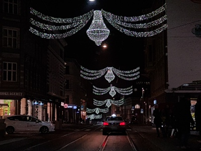Jul i Bogstadveien. Foto: Siri Wolland