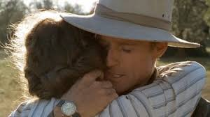 Foto fra filmen Out of Africa. Copyright Universal Studios. Med Maryl Streep og Robert Redford. https://no.pinterest.com/heartncrafts/out-of-africa/