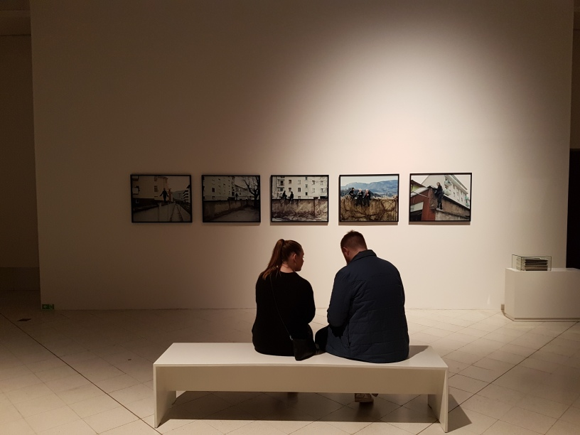 "Foto fra fotoutstillingen ""Snap"" på Museet for samtidskunst. Foto fra utstillingen: Siri Wolland"
