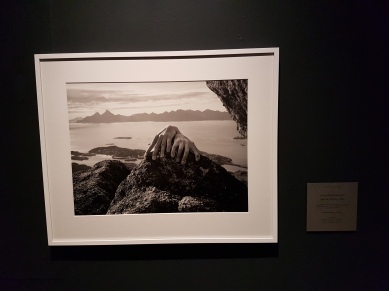 Arno Rafael Minkkinen, Skrovafjellet Mountain Skrova, Norway, 2007. Foto fra utstillingen; Siri Wolland