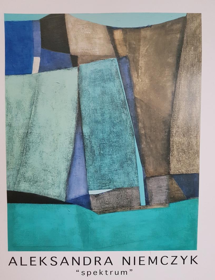 """Aleksandra Niemczyk (1977) fra utstillingen """"Spektrum"""" i Galleri Ramfjord. (mars/april 2017)"""