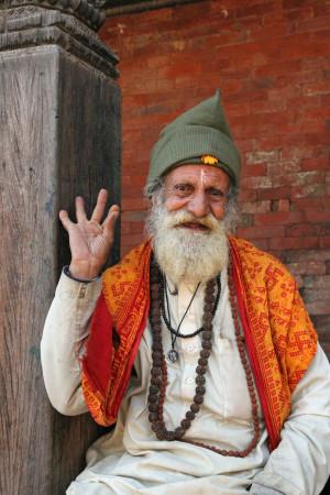 Hellig mann. Nepal. Foto: Siri Wolland