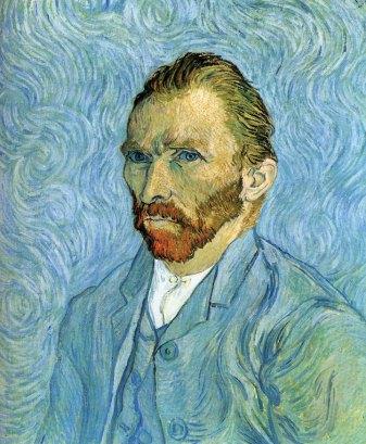 Selvportrett fra 1880. Vincent van Gogh. Musée d'Orsay, Paris.