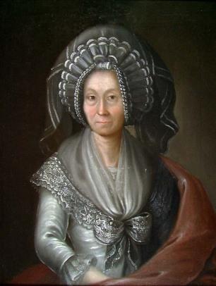 Uten år. Ingeborg Turine Wang, f. Rogstad av Peder Pedersen Aadnes/Nasjonalmuseet. Falt i det fri (Public domain)
