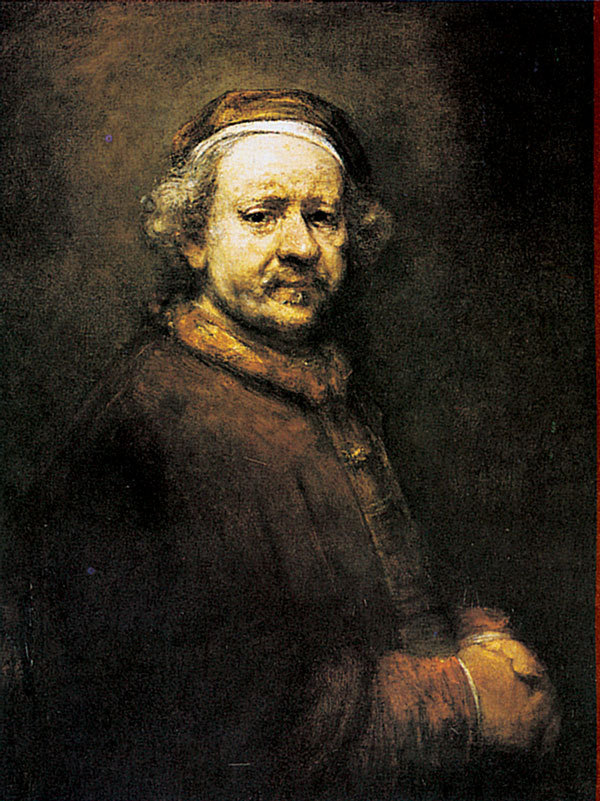 Selvportrett, 1659. Olje på lerret, 85 x 65,5 cm. National Gallery, London.