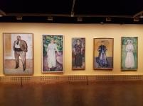 Edvard Munch, fra avdelingen De andre. Foto fra utstillingen: Siri Wolland