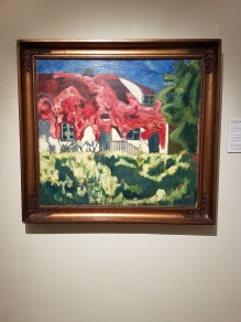 Rudolph Thygesen (1880-1953), Villvin, 1911. Foto fra utstillingen: Siri Wolland