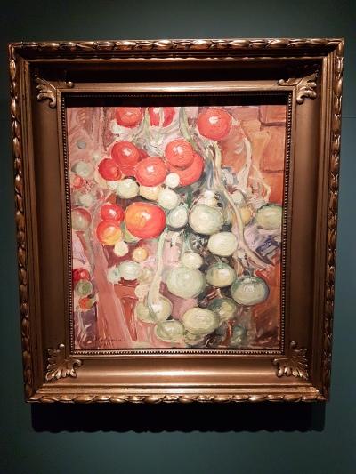 Pekka Halonen (1865-1933), Tomater, 1916. Foto fra utstillingen: Siri Wolland
