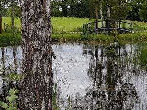 Hagen utenfor utstillingslokalet. Foto: Siri Wolland