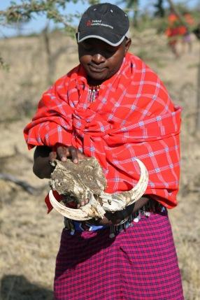 Derrick vår guide. Masai Mara, Kenya. Foto: Siri Wolland