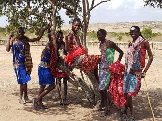 Masai. Masai Mara Kenya. Foto: Siri Wolland