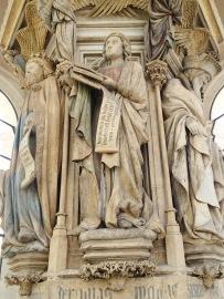 Mosesbrønnen i Dijon. Foto: Siri Wolland