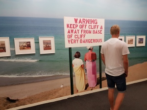 """Fotofestivalen i Arles. """"Early Works"""". Fotograf; Joel Meyerowitz, 1960-70. Foto fra utstillingen: Siri Wolland."""