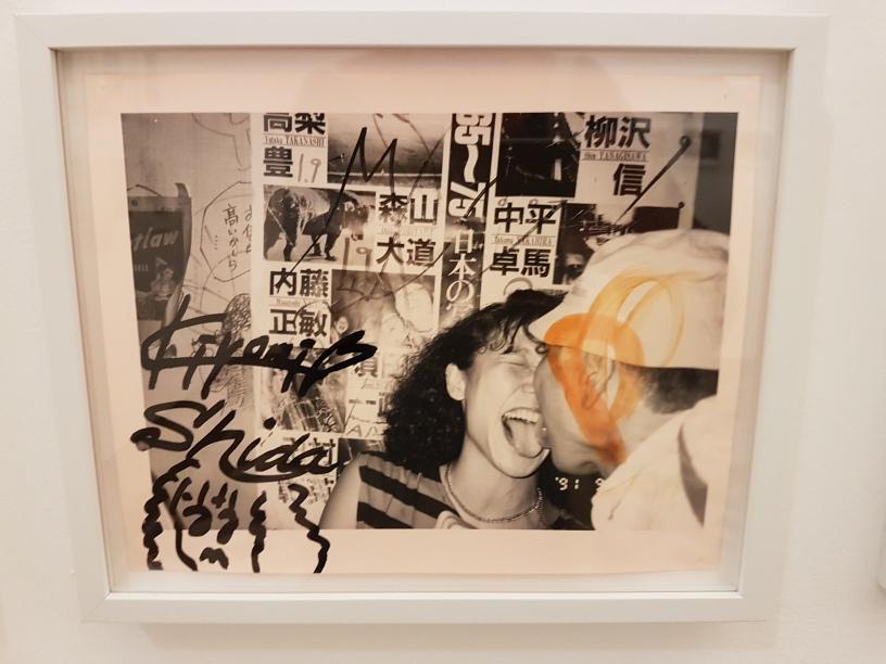 """Fotofestivalen i Arles. """"The Incurable Egoist"""". Fotograf; Masahisa Fukase. Serien Berobero, 1991. Foto fra utstillingen: Siri Wolland."""