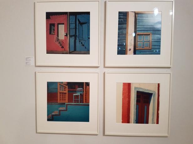 "Fotofestivalen i Arles. ""Urban Impulses"". Fotograf; Enrique Bostelmann, Mexico. Villahermosa,1984. Untitled, 1969. Emilia,1971. Untitled,1971. Foto fra utstillingen: Siri Wolland."