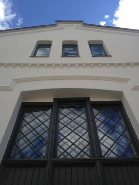 Kunststallens fasade. Foto: Vibeke Vesterhagen
