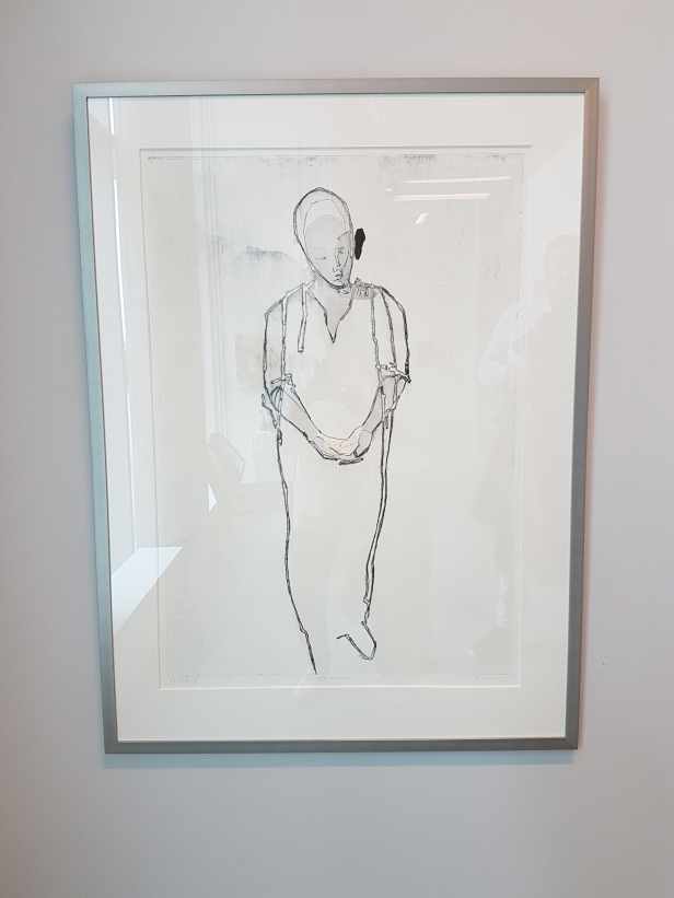 """Terje Resell, """"Vokt ørene"""". Galleri Semmingsen. Foto fra utstillingen: Siri Wolland"""