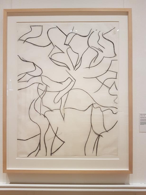 """Willem de Kooning, """"Untitled"""", 1980. Foto fra utstillingen: Siri Wolland."""