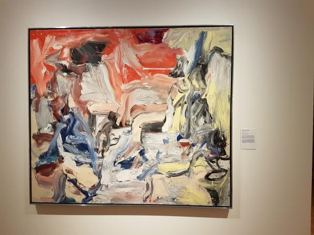 """Willem de Kooning, """"Untitled IX"""", 1977. Foto fra utstillingen: Siri Wolland."""