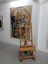 Merlin Carpenter, Disabled art helper (2006-2007) (UK). Foto fra utstillingen: Siri Wolland.