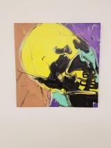 Michel Majerus, Untitled (1998) (Luxemburg). Foto fra utstillingen: Siri Wolland.