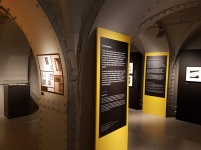 """Fra utstillingen av Bjørn Winsnes """"Utsnitt"""" i Nasjonalmuseet - Arktitektur. Foto: Siri Wolland"""