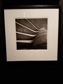 Bjørn Winsnes, Kontorbygg med verksteder for Gustav A. Ring, ca 1965. Detalj av trappen. Arkitekt: Geir Grung. Foto fra utstillingen: Siri Wolland.