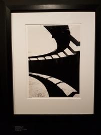 Bjørn Winsnes, Tryvannstårnet 1962. Detalj av gelender. Arkitekt: Petter A. M. Mellbye. Foto fra utstillingen: Siri Wolland.