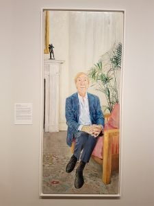 Sopio Chkhikvadze (f.1972), David Wigg. Foto fra utstillingen: Siri Wolland