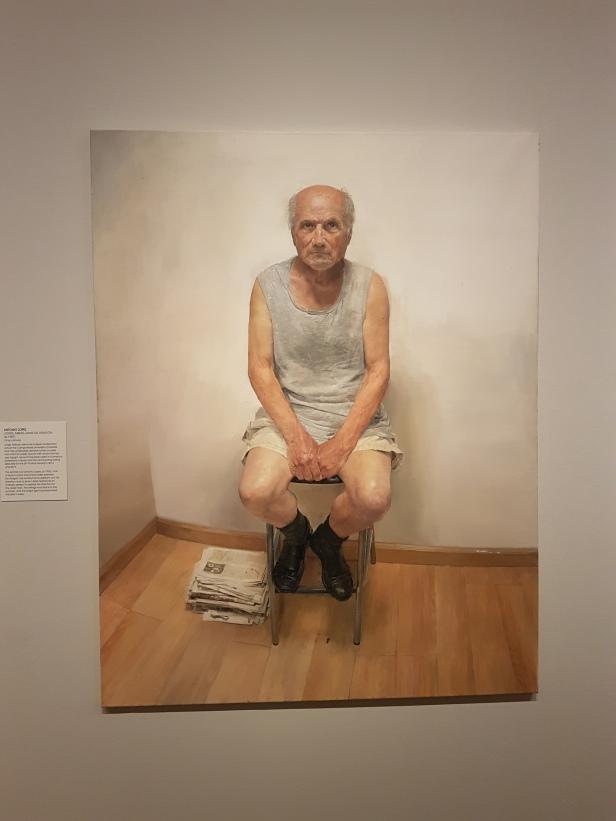 Jorge Abbad-Jaime de Aragòn (f.1987), Antonio Lòpez. Foto fra utstillingen: Siri Wolland