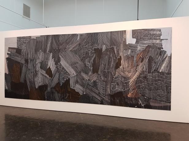 Anna Sigmond Gudmundsdottir (f.1974), Vegg, 2016. Foto fra utstillingen: Siri Wolland.