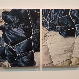 Kristin Austreid (f.1985), Orion is Among Stars 2 -3, 2016. Foto fra utstillingen: Siri Wolland.