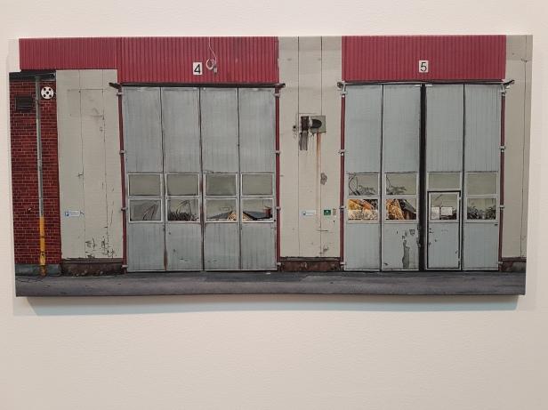 Elin Brissmann (f.1982), Uten Tittel, 2016. Foto fra utstillingen: Siri Wolland.