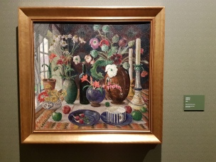 Stilleben, 1925. Nikolai Astrup. Foto fra utstillingen: Siri Wolland.