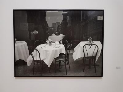 Dag Alveng, Cafébord, 1993. Foto fra utstillingen: Siri Wolland