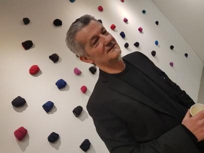 Rus Mesic, fra utstillingen Confessions, på Galleri DC-3. Foto fra utstillingen: Siri Wolland.