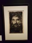 Edvard Munch, Stéphane Mallarmé, 1897. Litografi. Foto fra utstillingen: Siri Wolland.