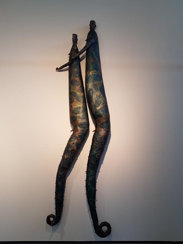 Kjell Erik Killi-Olsen, The Salamander Twins, 1985. Foto fra utstillingen: Siri Wolland.