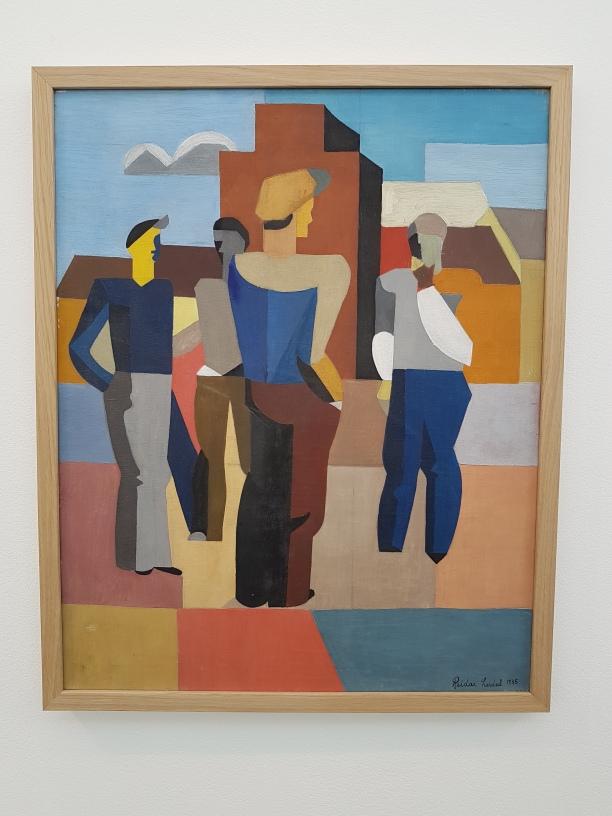 Reidar Lerdal, De arbeidsløse, 1936. Foto fra utstillingen: Siri Wolland.