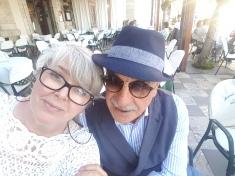 Vennlige innbyggere i Taormina. Foto: Siri Wolland