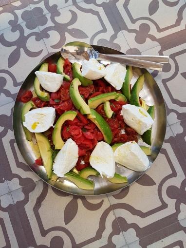 Utsøkt mat fra La Prora. Foto: Siri Wolland