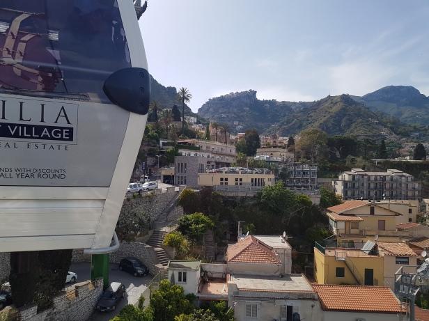 I gondol over Taormina. Foto: Siri Wolland