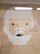 Pushwagner, BINGO. Foto fra utstillingen: Siri Wolland