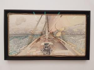 Pushwagner, 1984. Foto fra utstillingen: Siri Wolland