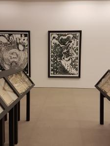 Foto fra utstillingen: Siri Wolland